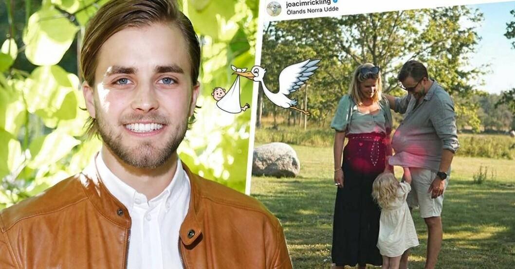 Joacim Rickling och Caroline Kejbert