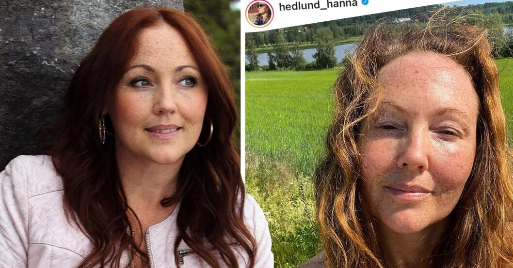Hanna Hedlund lämnar Sverige