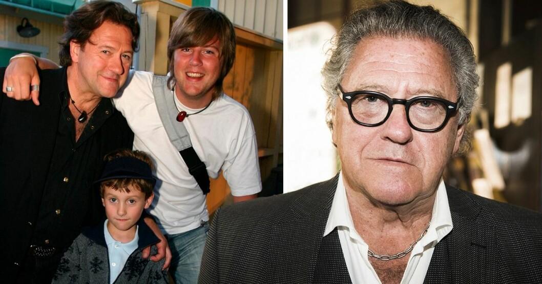 Tommy körberg med sina söner