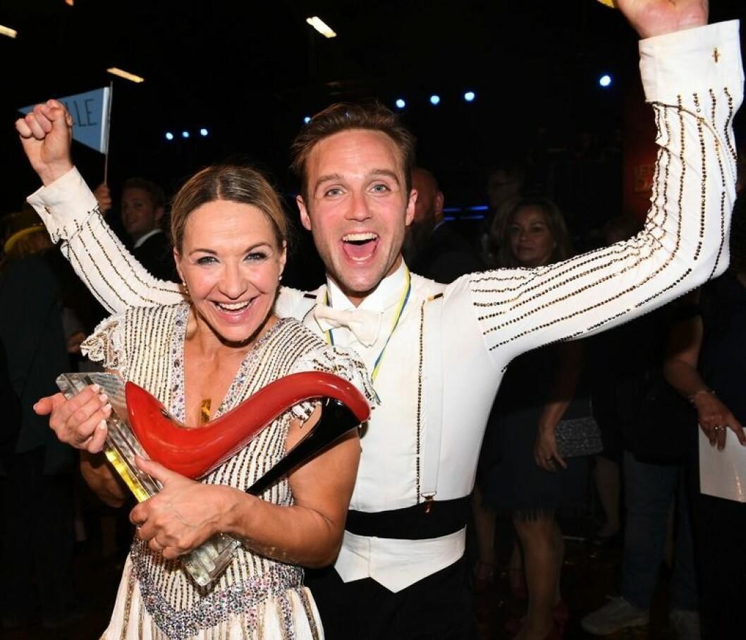 Kristin Kaspersen och Calle Sterner kammade hem Let's dance 2020