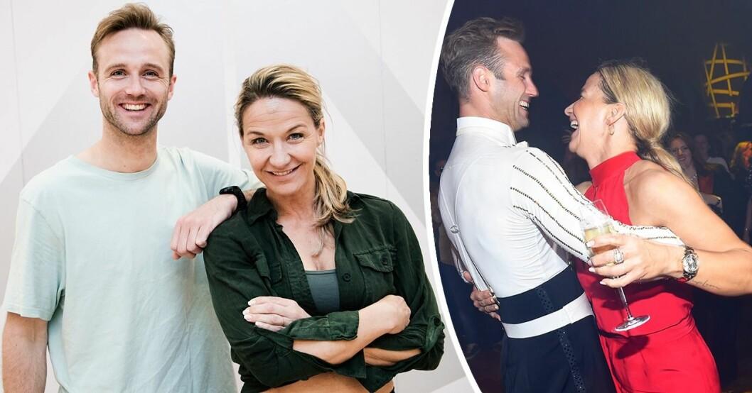 Kristin Kaspersen och Calle Sterner
