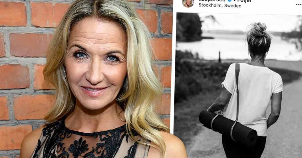 """Kristin Kaspersens nya relationsbesked – efter förljarnas frågor: """"Jag är inte ensam"""""""