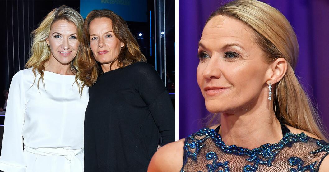Kristin Kaspersens familjelycka – visar nya bilden på Malin Berghagen