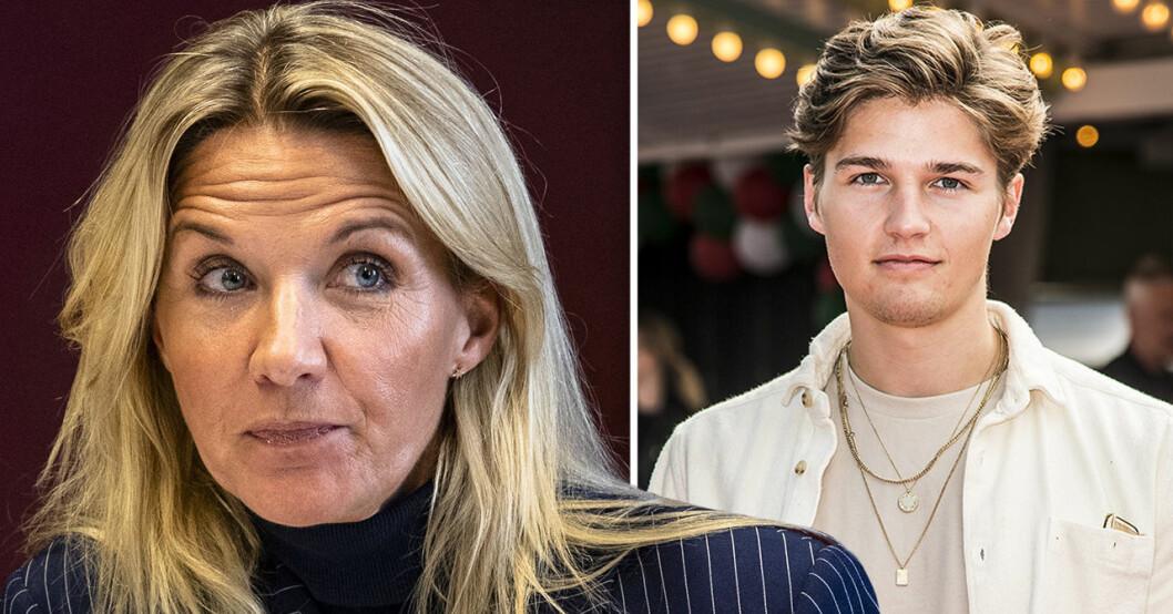 Kristin Kaspersen och Filip