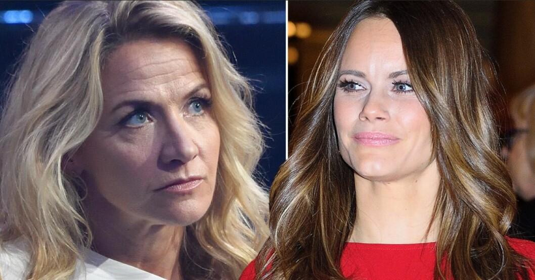 Kristin Kaspersen och Prinsessan Sofia