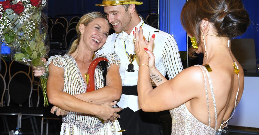Kristin och Calle i Let´s dance 2019
