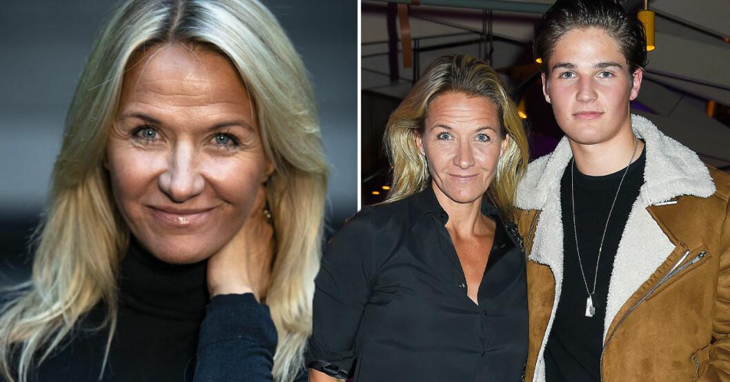 Kristin Kaspersen och Filip Lamprecht