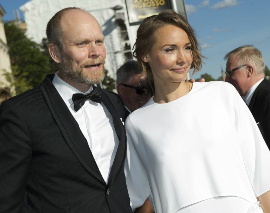 Kristian Luuk och Carina Berg på Polarpriset