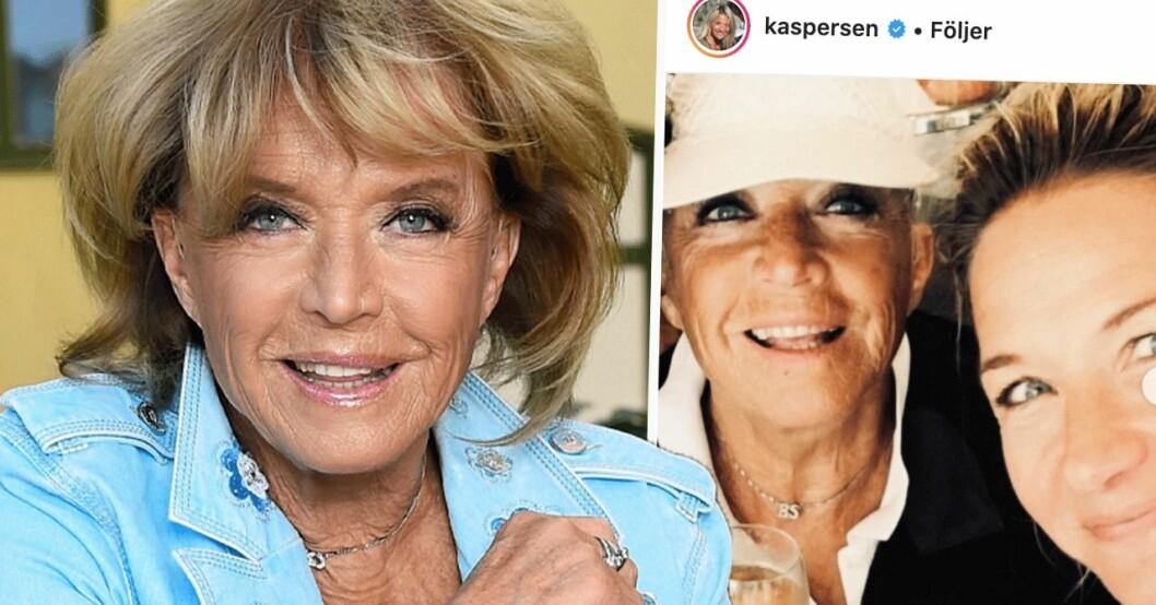 Lill-Babs och Kristin Kaspersen
