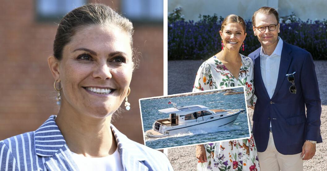Så mycket kostade kronprinsessan Victorias nya lyxbåt.