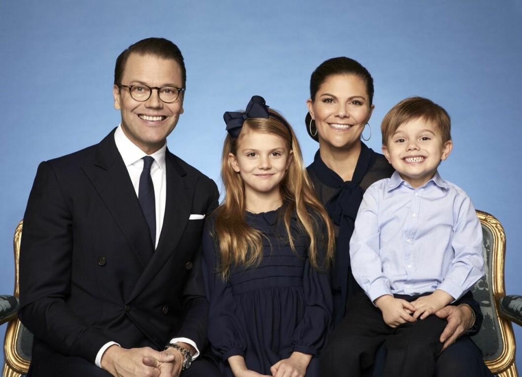 Kronprinsessfamiljen 2019