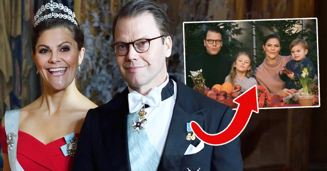 2018-års julhälsning från kronprinsessfamiljen har kommit och prinsessan Estelle gör succé som vanligt
