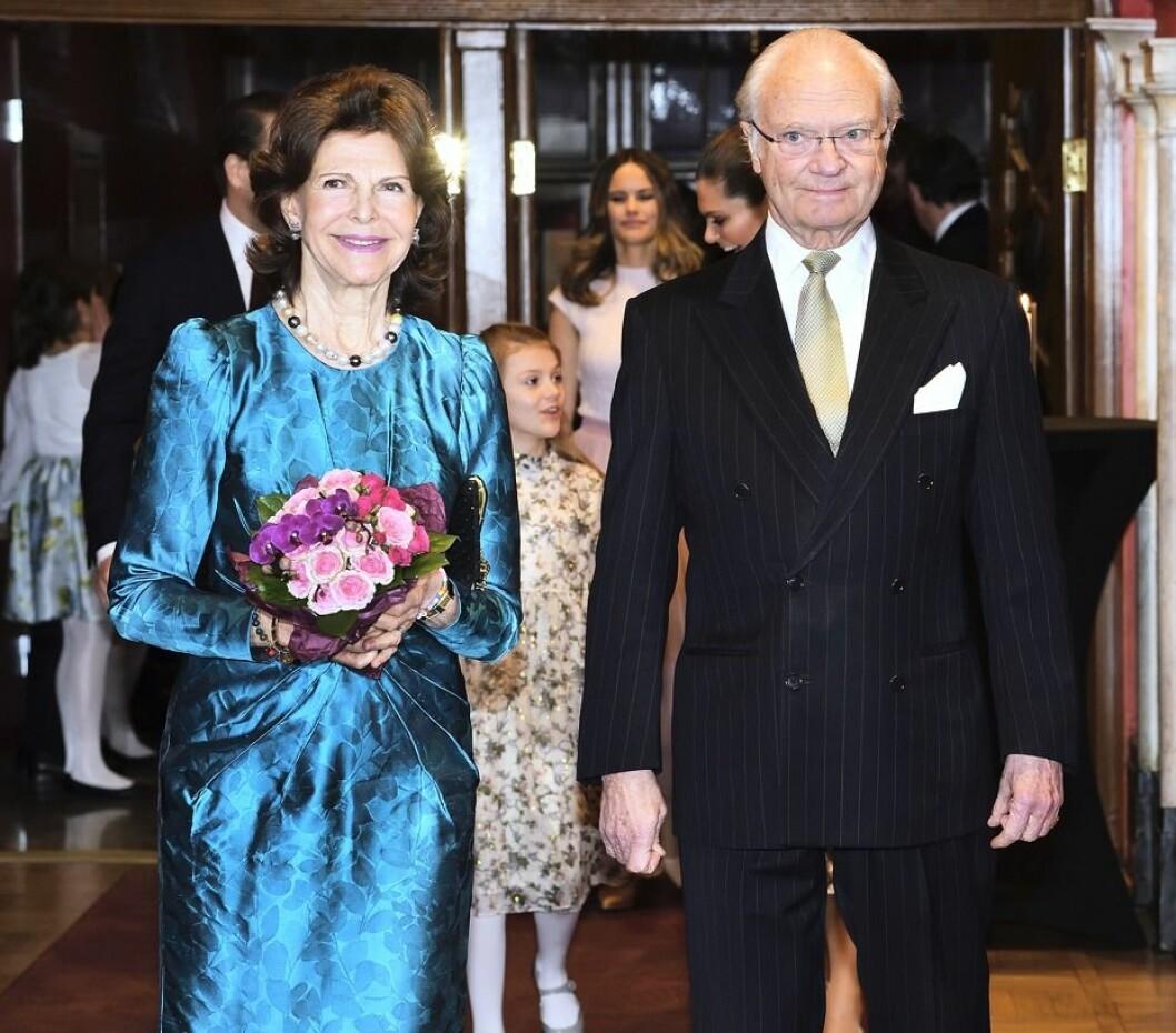 drottnings Silvia och kungen
