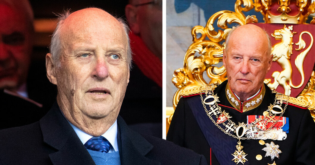 Hovets ord efter oron – därför tvingas kung Harald ställa in uppdrag