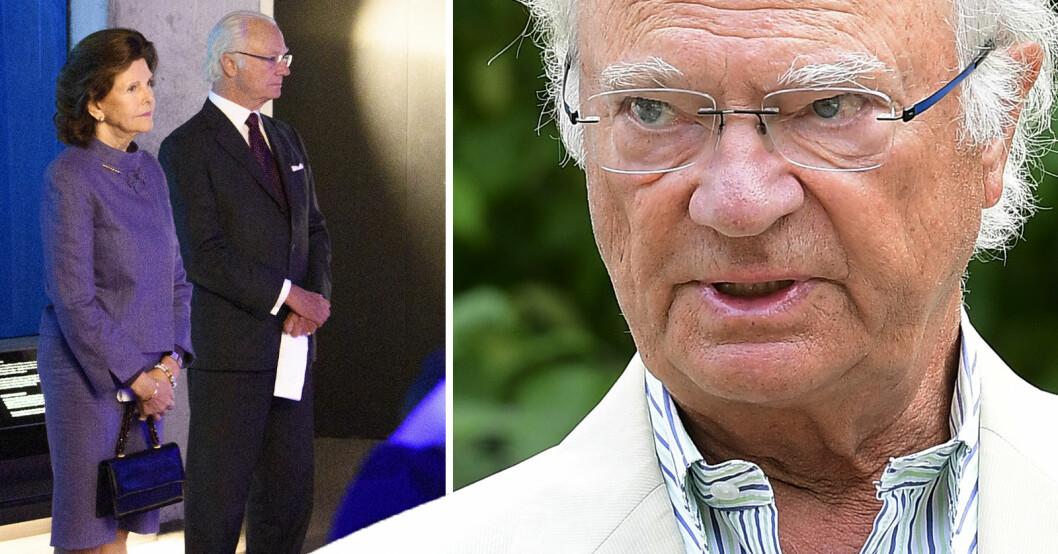 Kung Carl Gustaf XVI i Värvet