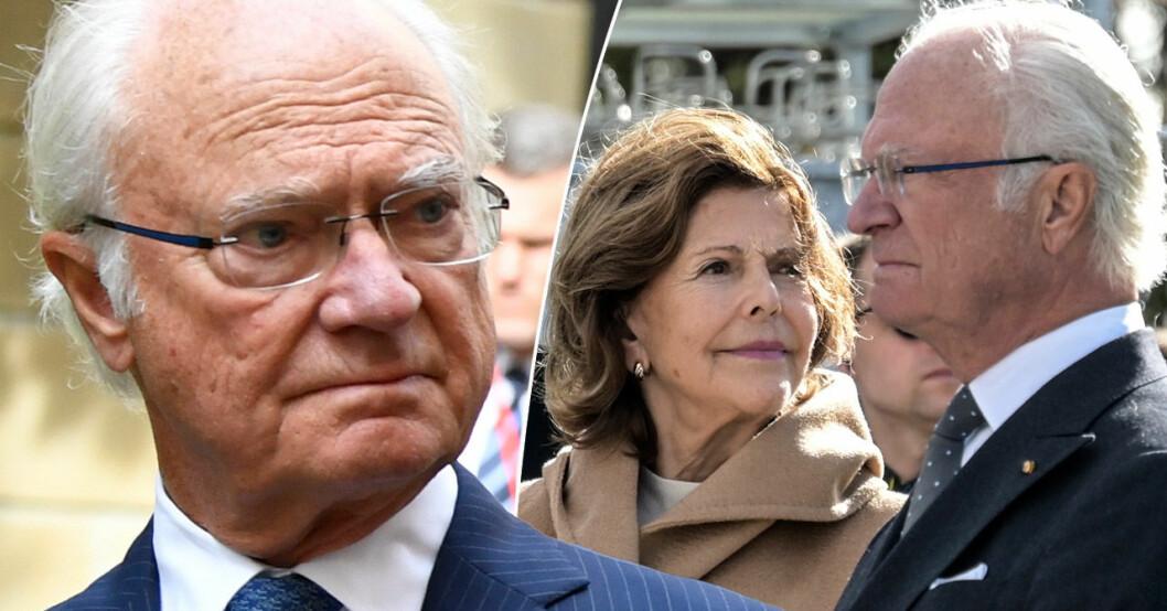 Kung Carl Gustaf XVI och drottning Silvia.