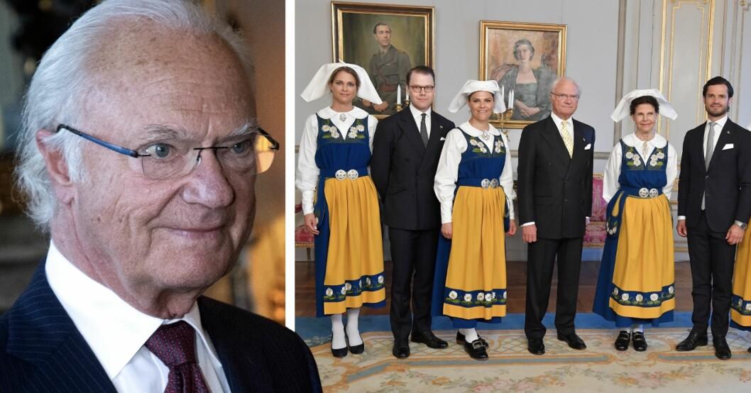 Carl XVI Gustaf och kungafamiljen