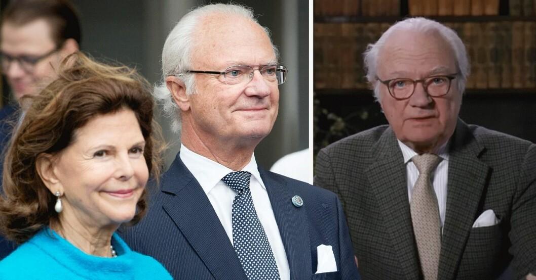 Kung Carl Gustaf förändring 2020