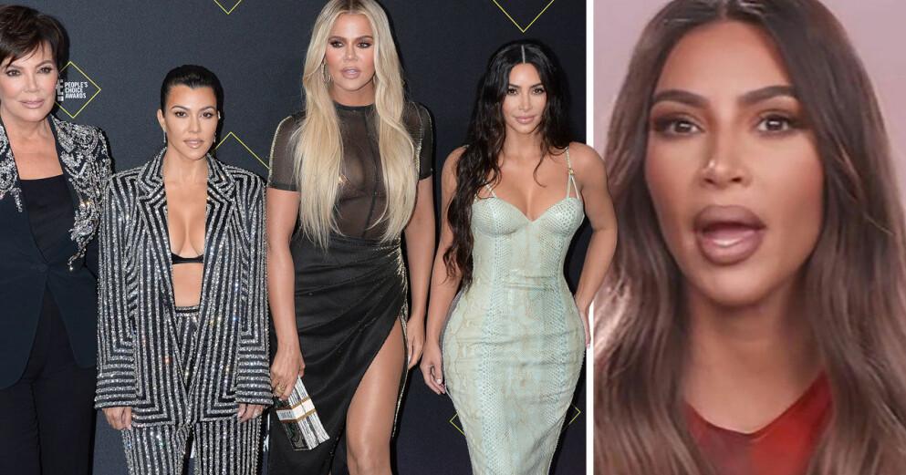 Kris Jenner, Kourtney Kardashian, Khloé Kardashian och Kim Kardashian på People's Choice Awards 2019.