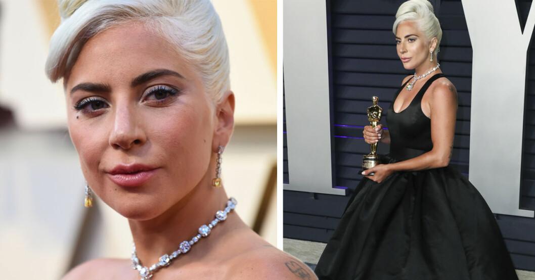 Lady Gaga svarar på gravidryktena.