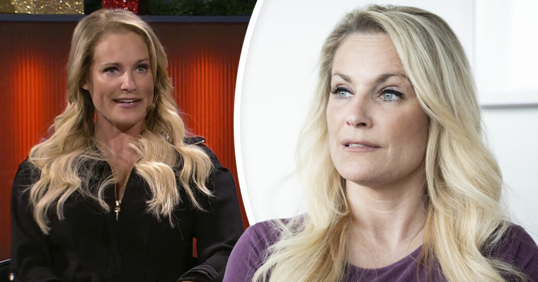 Laila Bagge gästar SVT:s talkshow Robins.