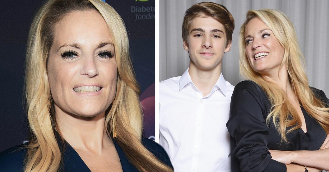 Laila Bagge berättar sanningen om sonen Liams pappa Mason Pitts