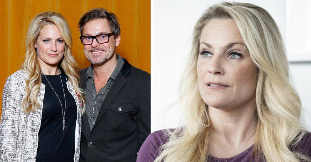 Laila Bagges nya beslut med Niclas Wahlgren – efter sonen Kits önskan