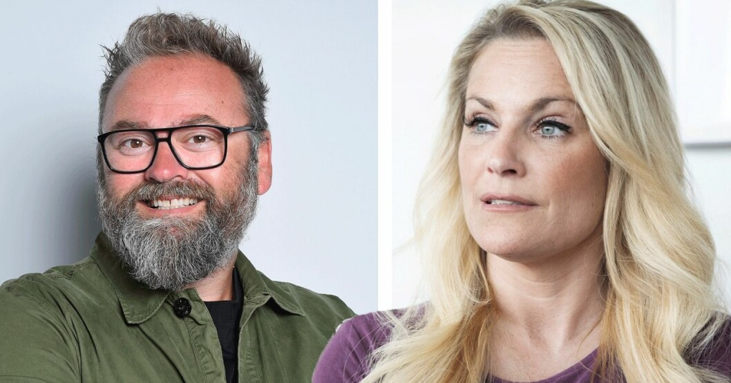 Adam Alsing och Laila Bagge
