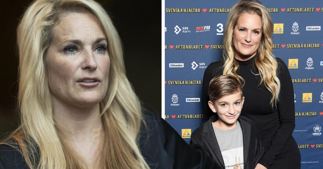Laila Bagges starka ord till sonen Kit – efter skilsmässan från Niclas Wahlgren