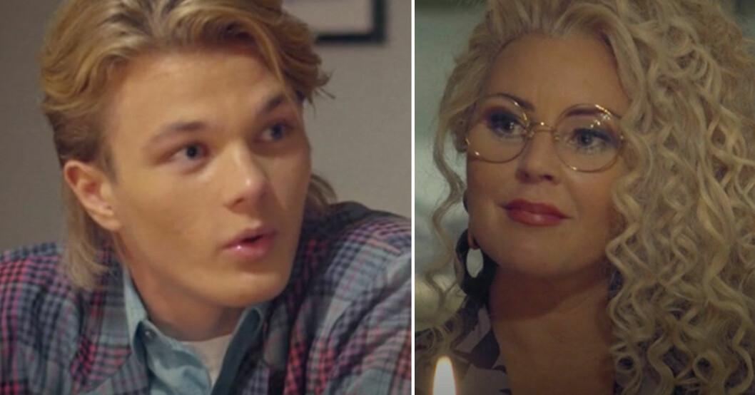 Lance Hedman Graaf chockad av avslöjandet om mamma Magdalena Graaf i TV4:s Hälsningar från.
