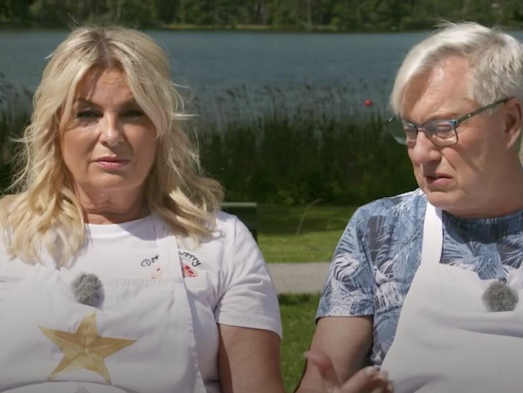 Helena Hysén och Lars-Åke Wilhelmsson, Babsan