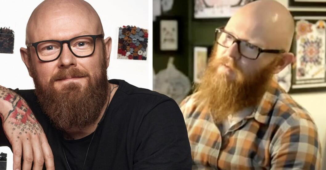 Jacob Pedersen i LEGO Masters Sverige har tidigare tävlat i Ink Master