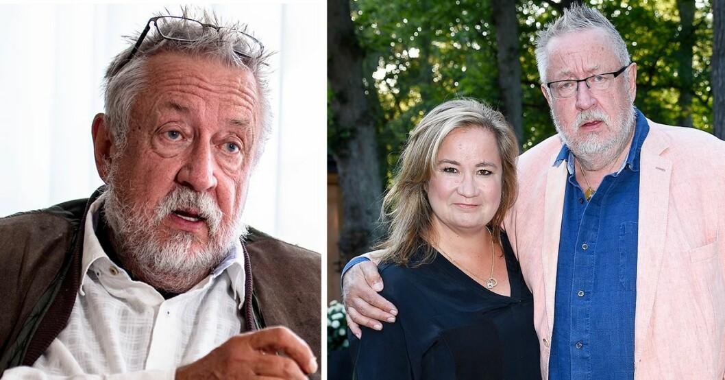 Leif GW Person och dottern Malin Persson Giolito