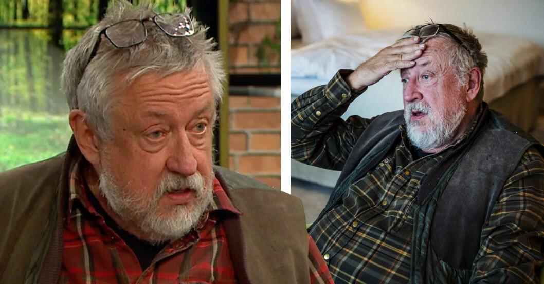 Leif GW I TV4 efter sjukhustiden våren 2019