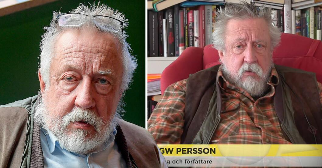 Leif GW Persson i Nyhetsmorgon