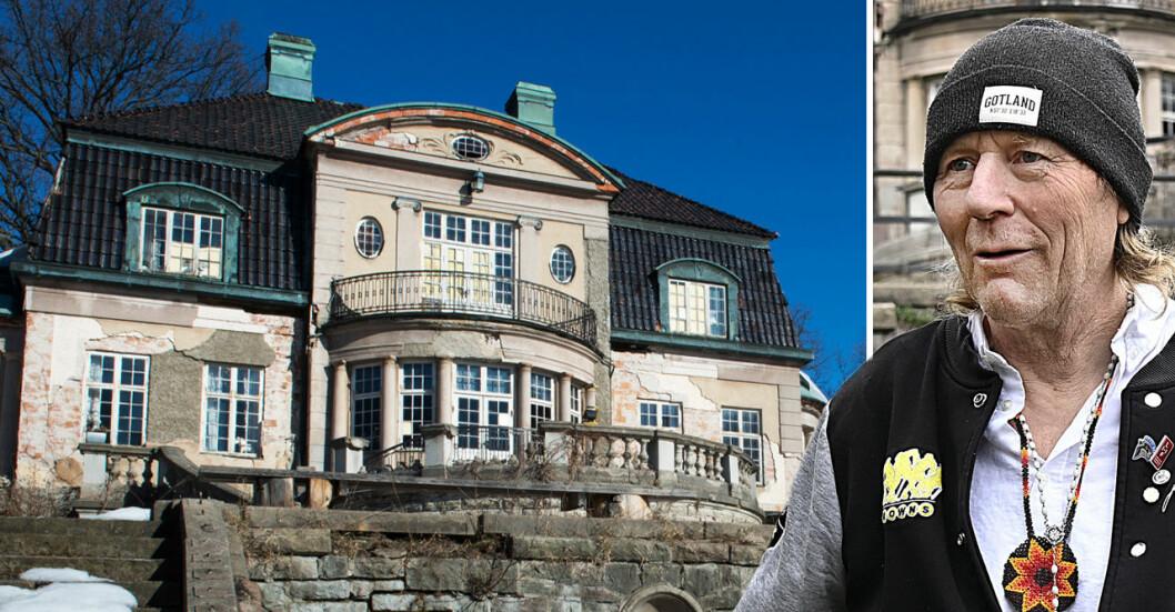 Bråket om Villa Kassman fortsätter. Och Leif Runo Carlsson säger att han vägrar flytta – någon har förfalskat hans namnteckning på domstolens handlingar.