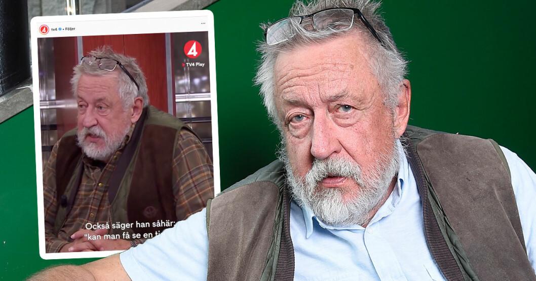 TV4-tittarna jublar över Leif GW Perssons ord om barnbarnet