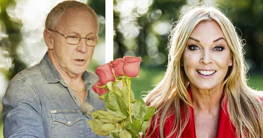 """Leif Eriksson och Linda Lindorff från """"Bonde söker fru"""""""