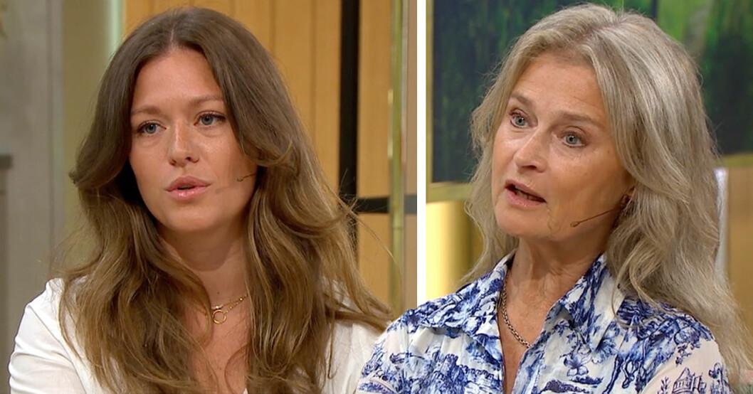 """Dottern Rosannas oro för Lena Endre – efter svåra sjukdomsbeskedet: """"Fruktansvärt"""""""