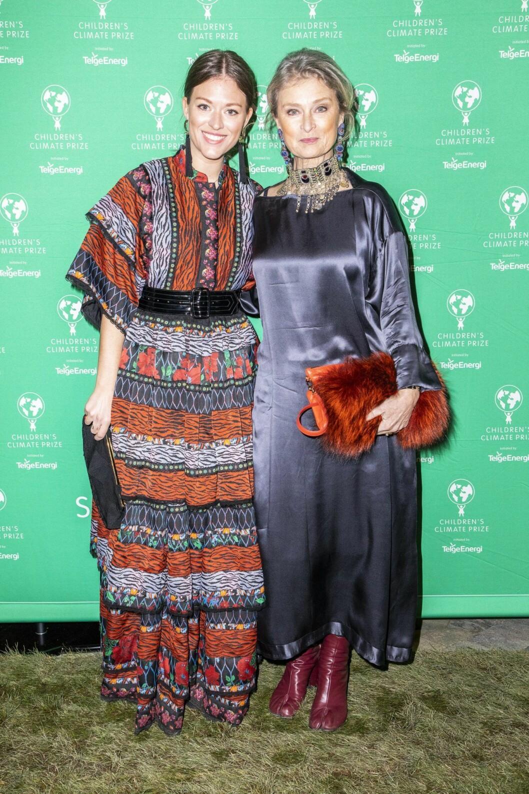 Lena Endre med dottern Rosanna Endre