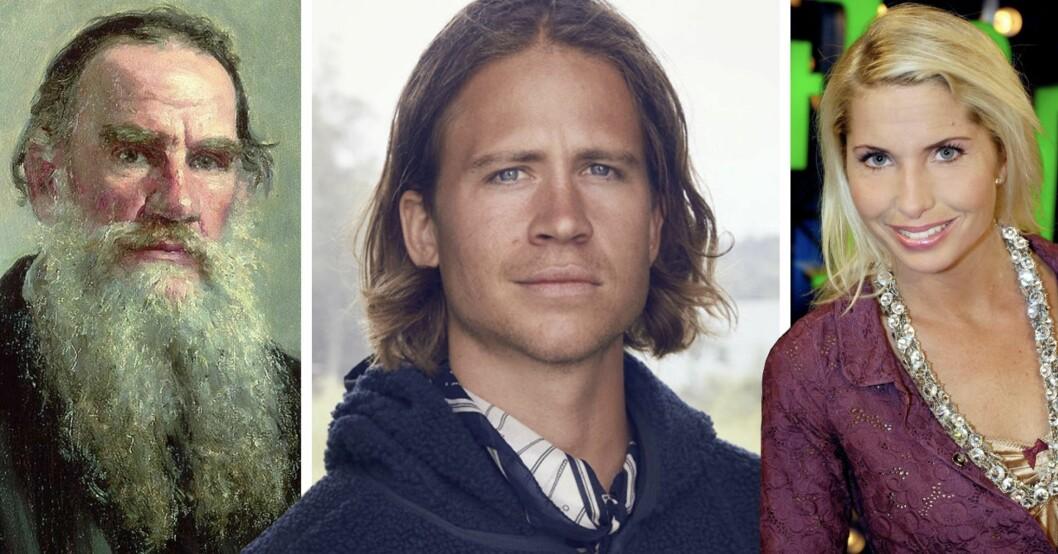 Leo Tolstoy, Dag Tolstoy och Viktoria Tolstoy är släkt