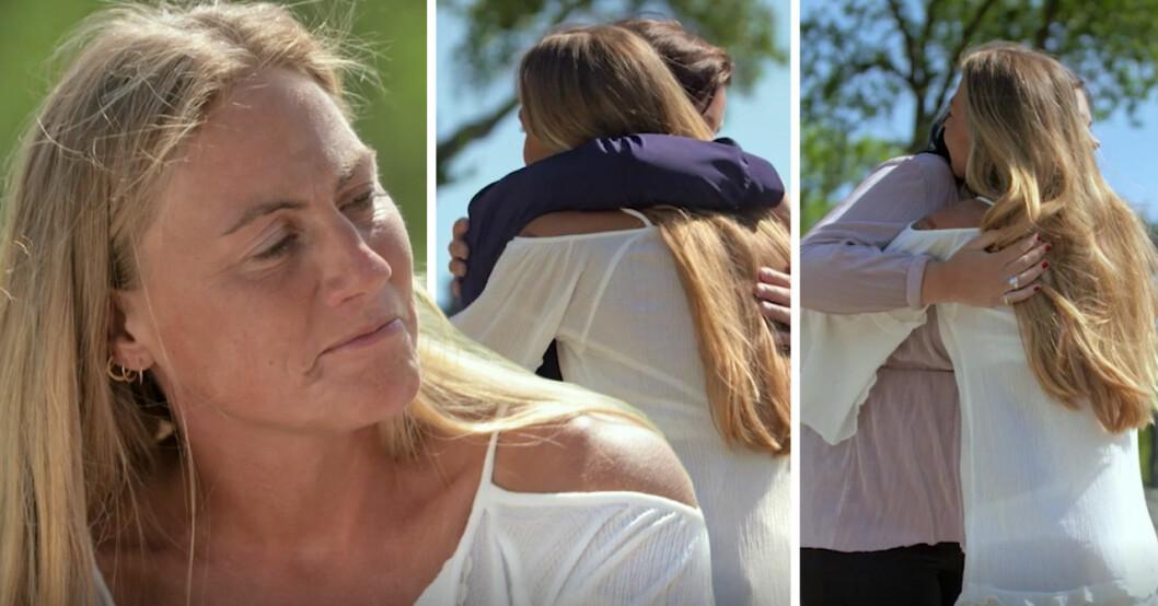 Leonora Vilhelmsson valde att skicka hem både Sofia och Maria i Bonde söker fru – kärlek åt alla 2018.
