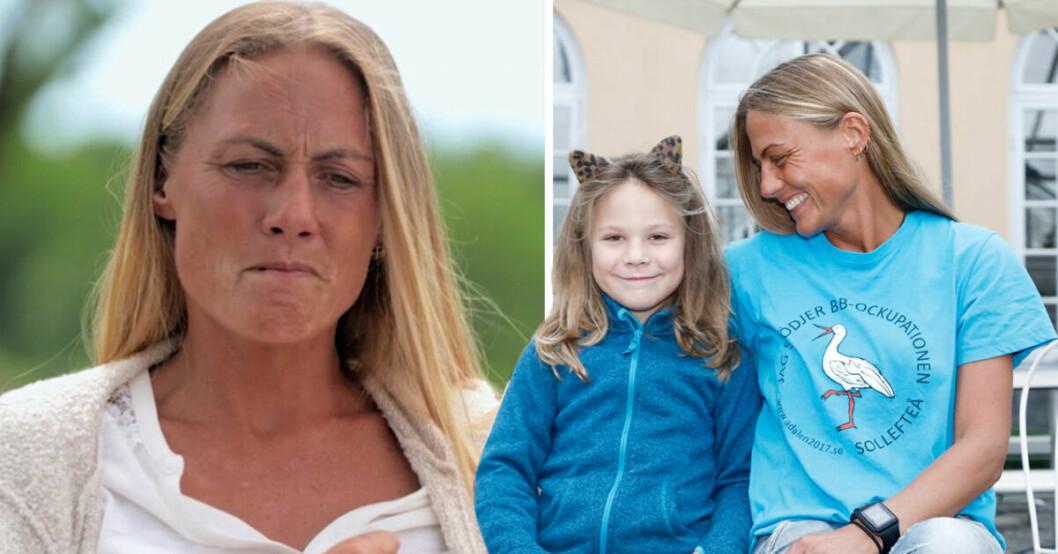 Leonora Vilhelmsson från TV4:s Bonde söker fru berättar nu om känslorna att vara ensamstående mamma till dottern Mollie.
