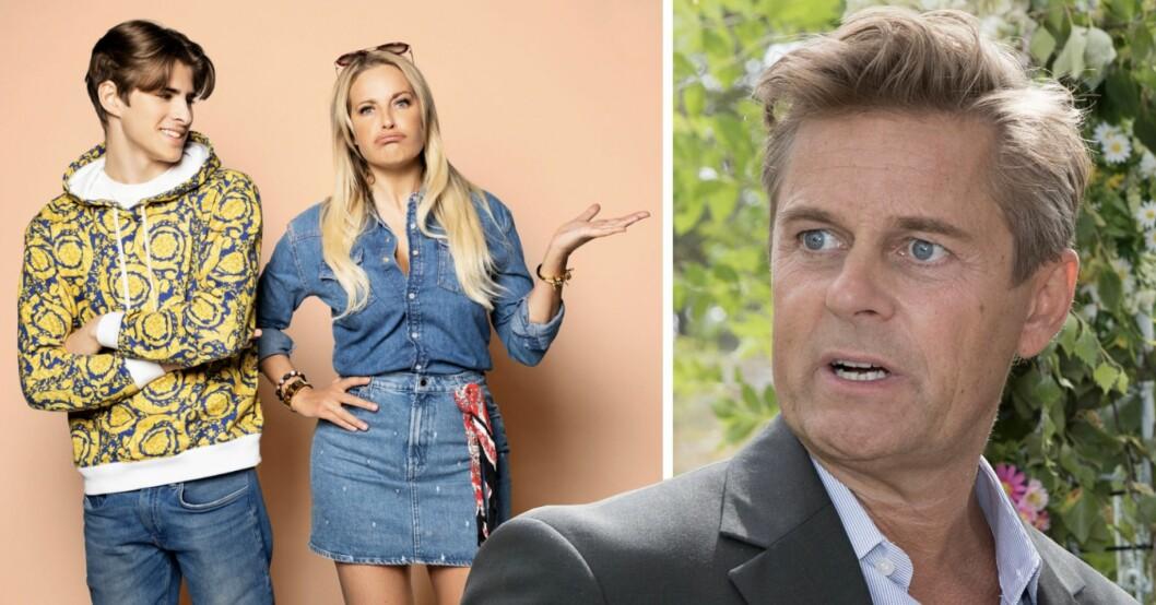 Därför syns inte Niclas Wahlgren i tv-programmet Lailaland