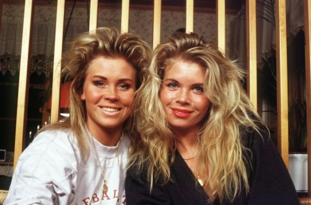 Lili & Susie Lili & Susie sång Portr Sit 1988 (c) Vojta Klecka / Sydsvenskan / IBL