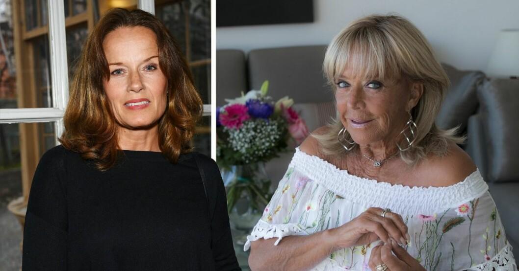"""Malin Berghagen och Barbro """"Lill-Babs"""" Svensson"""