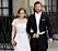 Lina Hellqvist och Jonas Frejd på prins Carl Philip och prinsessan Sofias bröllop. Foto: IBL Bildbyrå