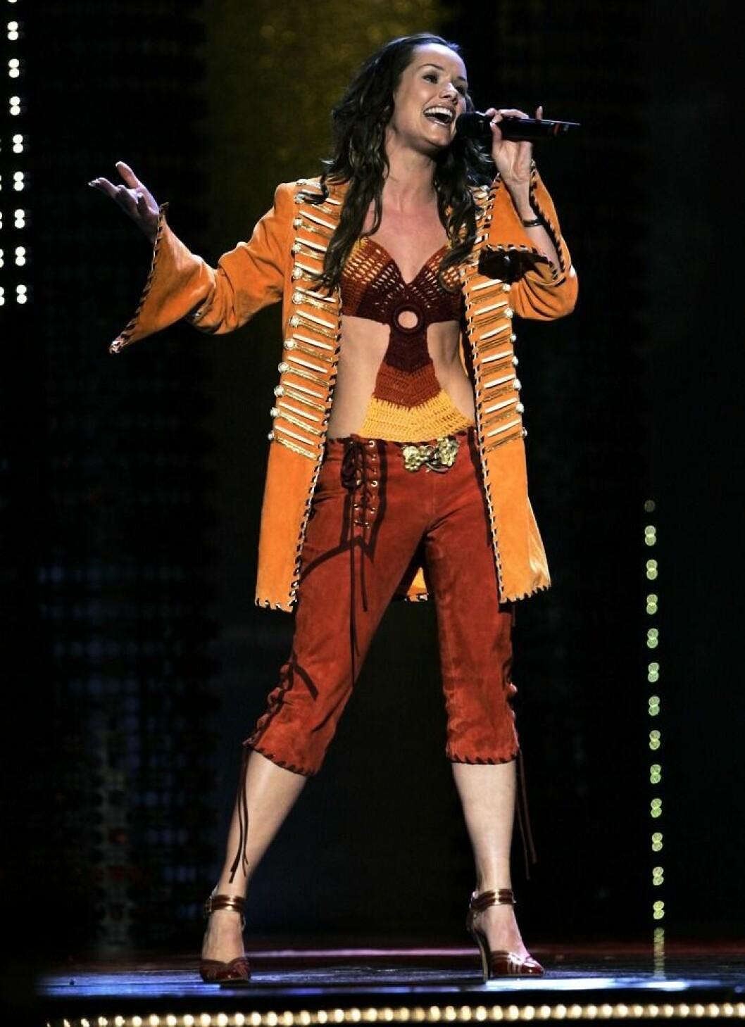 Linda Bengtzings debut i Melodifestivalen