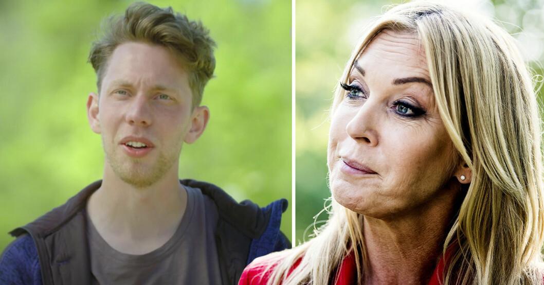 Erik Bolang och Linda Lindorff i Bonde söker fru – Kärlek åt alla