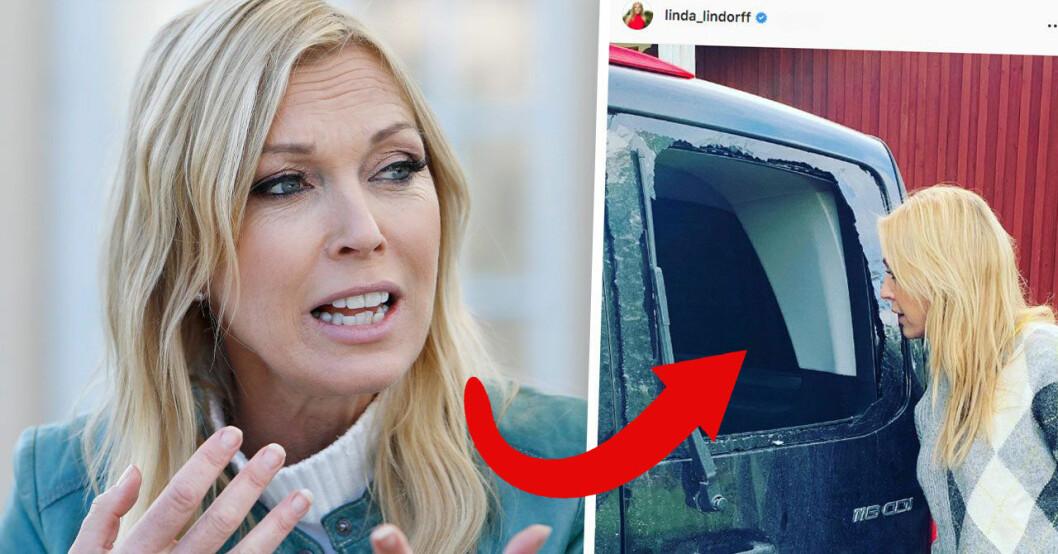Linda Lindorff om inbrottet i Bonde söker fru-bilen.
